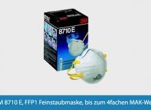 Feinstaubmaske 3M 8710 E FFP1