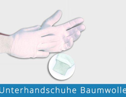 Unterhandschuhe Baumwolle