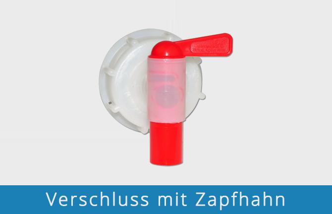 Verschluss mit Zapfhahn