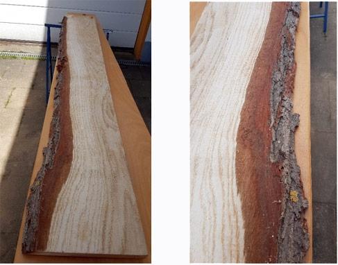 Holzbohlen für Epoxy Tisch
