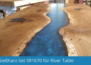 Gießharz Set für RiverTable